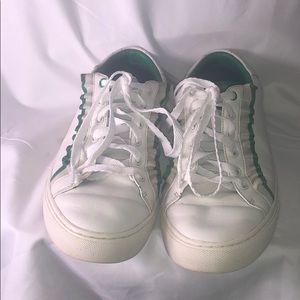 Tory Burch Sport Ruffle Gym Shoes - Size 9